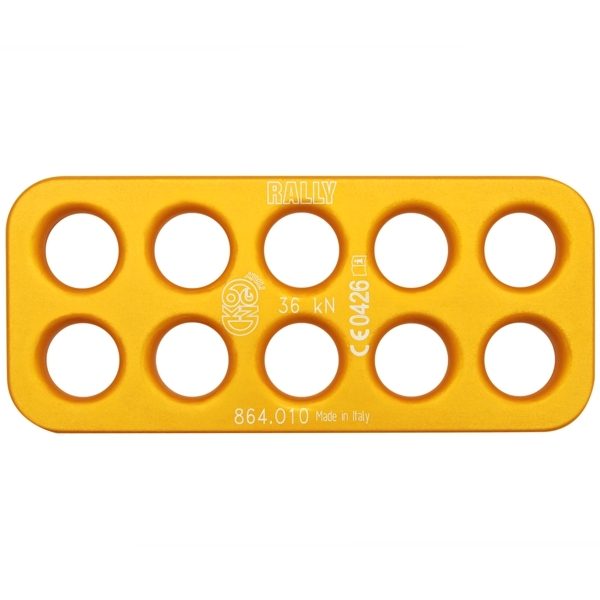 Kong Rally Alu Alloy 10 Hole Rig Plate